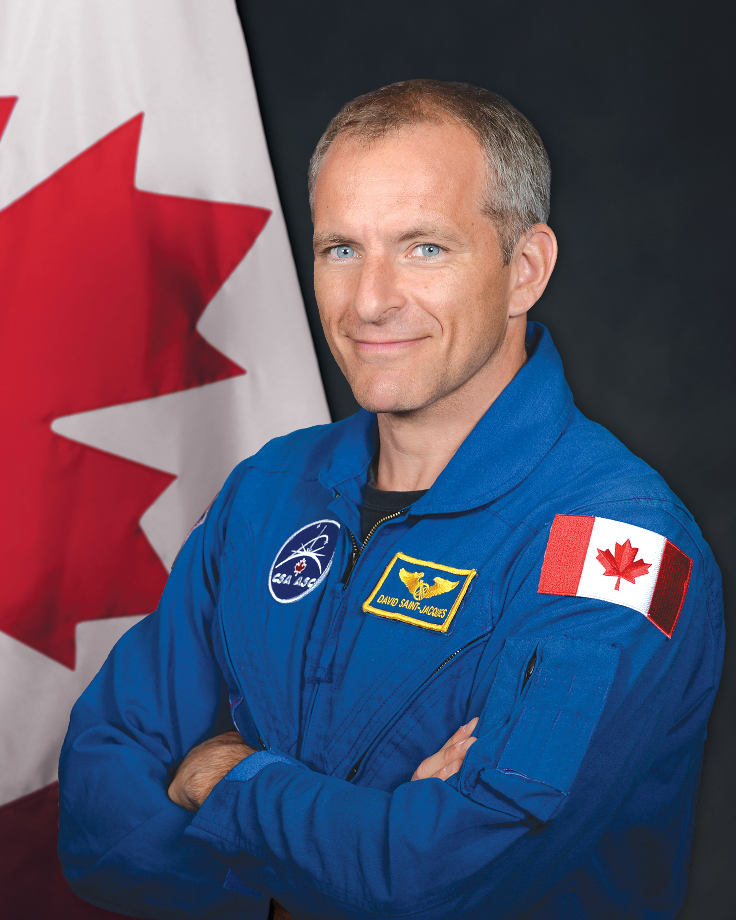 Canadian Space Agency Astronaut David Saint Jacques